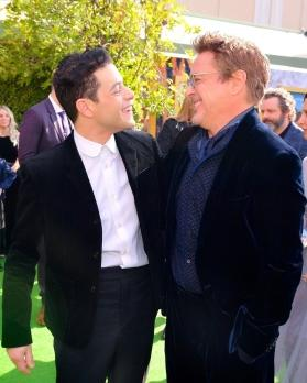 Rami Malek has a 'big crush' on Robert Downey Jr