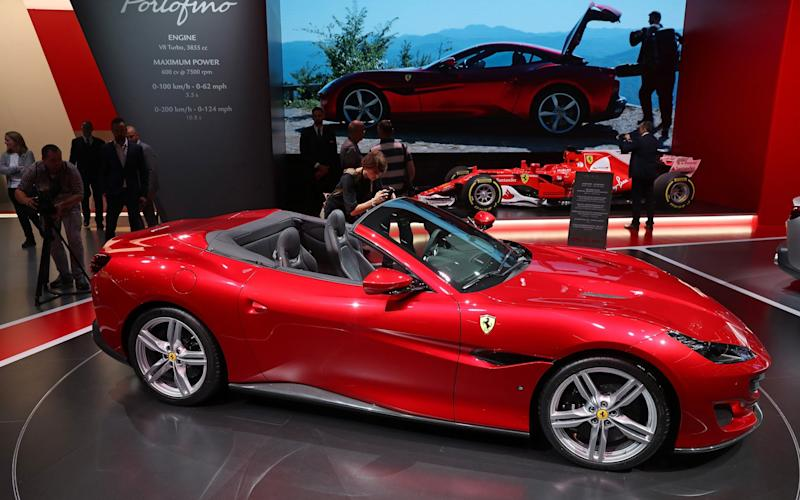 The Ferrari Portofino, which won't be with us until next year - Getty Images Europe