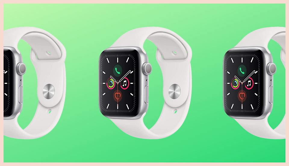 The Apple Watch Series 5 is on sale for its all-time lowest price. (Photo: Apple)