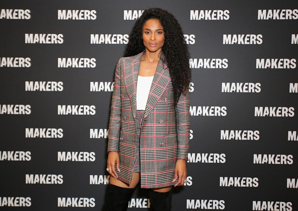 Ciara talks about leveling up in her own life. (Photo: Getty Images)