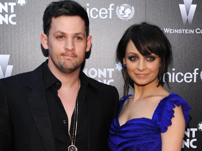 Joel Madden and Nicole Richie march 2010