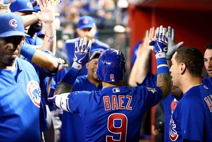 EMac gives his favorite MLB DFS Stacks for Yahoo + DraftKings + FanDuel daily fantasy baseball lineups Cubs, Padres Blue Jays | Monday 4/5/21