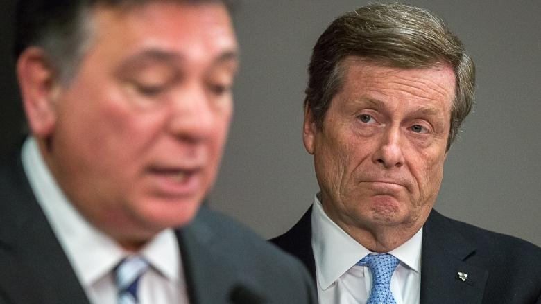It won't be 'business as usual' until province funds Toronto's needs, Tory warns Sousa