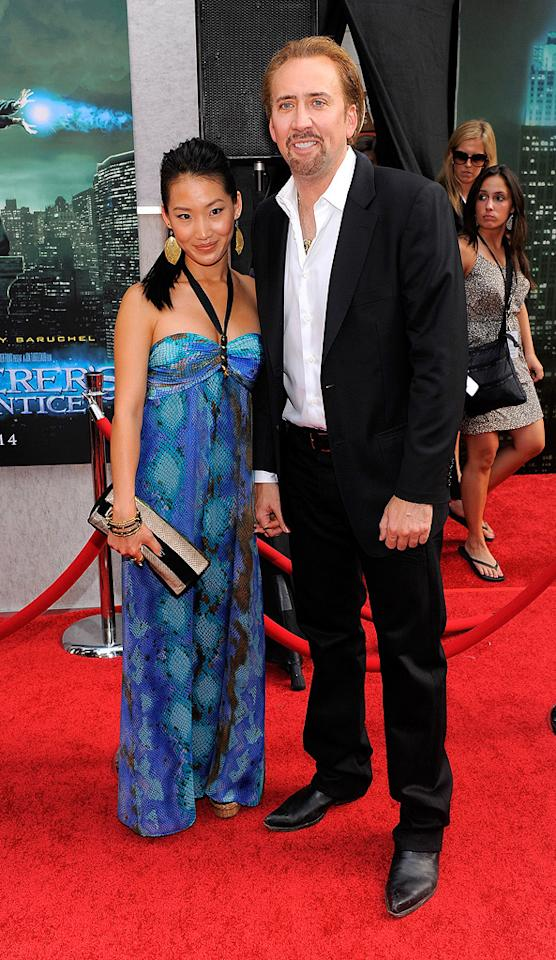 "<a href=""http://movies.yahoo.com/movie/contributor/1800018581"">Nicolas Cage</a> and wife at the New York City premiere of <a href=""http://movies.yahoo.com/movie/1810073953/info"">The Sorcerer's Apprentice</a> - 07/06/2010"