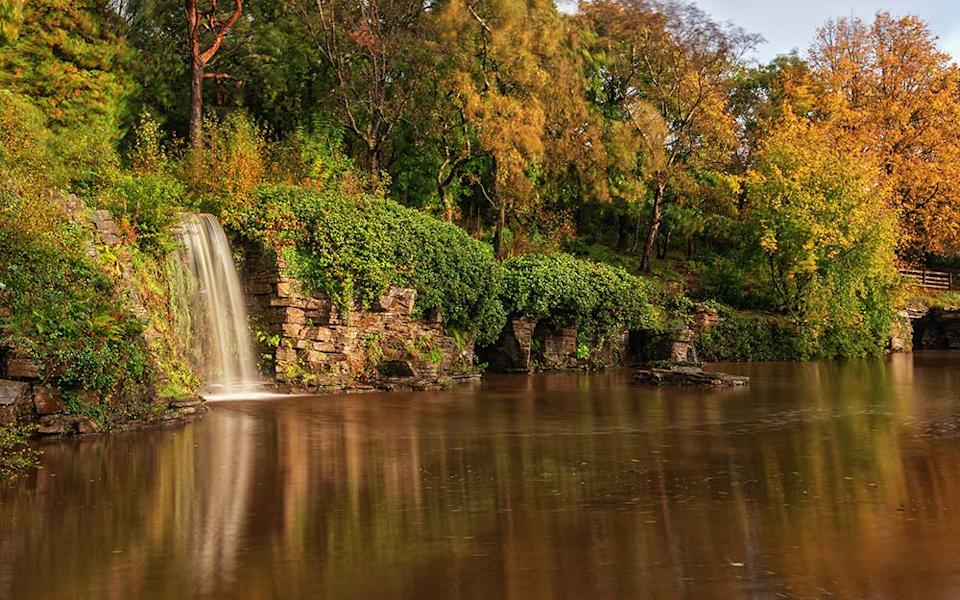 If you like your gardens wild and rambling, Rivington Terraced Gardens are for you - JONATHAN ELLISON
