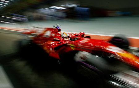 Formula One F1 - Singapore Grand Prix 2017 - Singapore - September 17, 2017 Ferrari's Sebastian Vettel before the race REUTERS/Jeremy Lee TPX IMAGES OF THE DAY - RC1697B87820