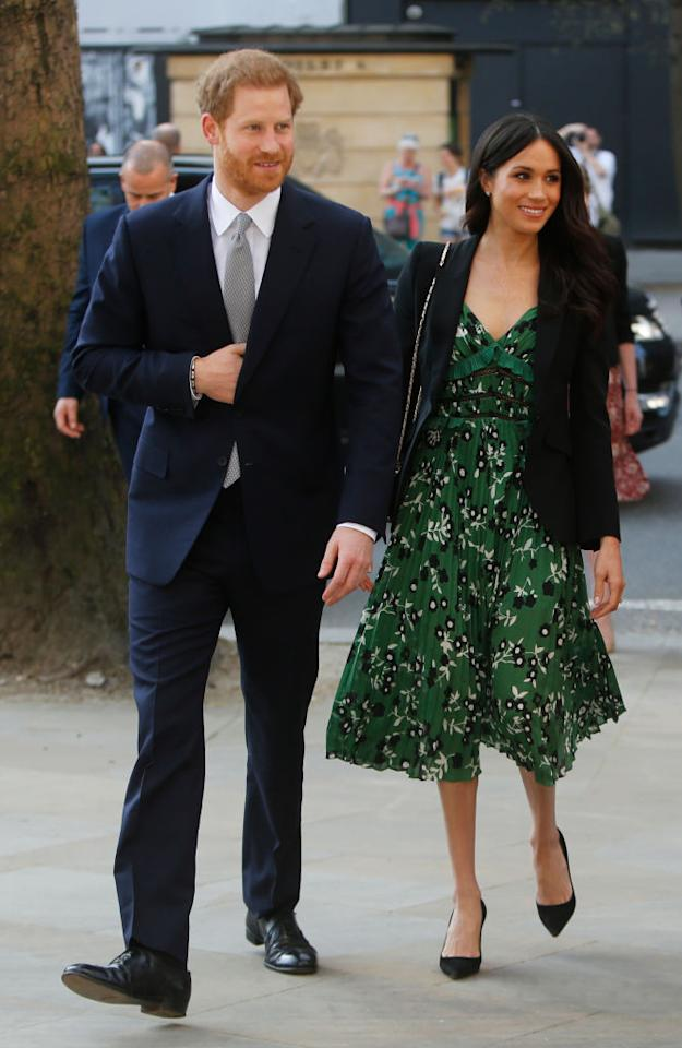 Meghan Markle Stuns in Green