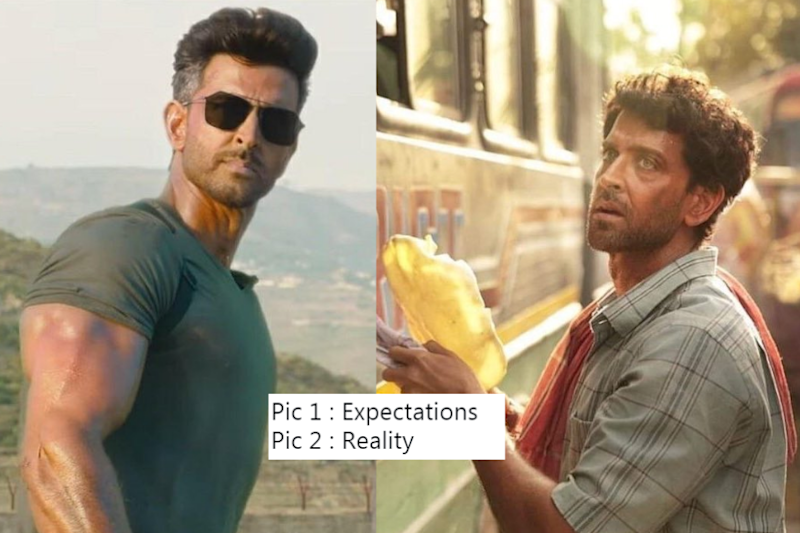 War Teaser Trailer Starring Hritik Roshan Has People Contesting Memes With Super 30