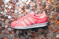 <p>Obviously the color of these Adidas Hamm x Superstar Shoes is incredibly fitting!</p>