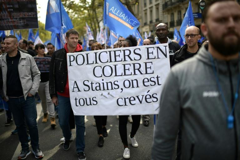 "The ""march of anger"" called by French Police unions in Paris reflected the frustration officers feel after a year of battling weekly ""yellow vest"" protests that have regularly turned violent"