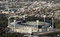 Both the men's and women's World Twenty20 finals in 2020 will be played at the MCG -- one of the world's biggest stadiums (AFP Photo/INDRANIL MUKHERJEE)