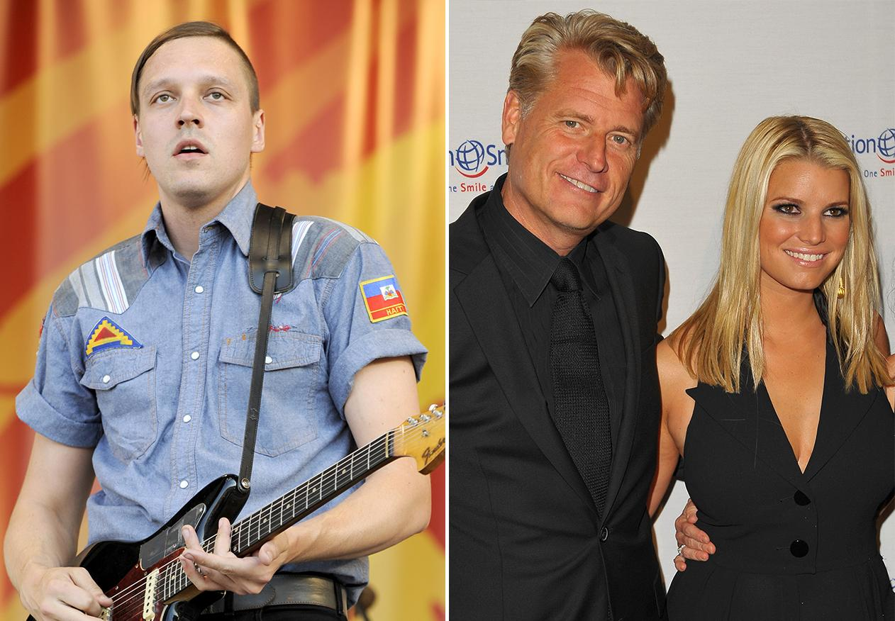"Arcade Fire wrote ""Antichrist Television Blues"" as a criticism of Jessica Simpson's father."