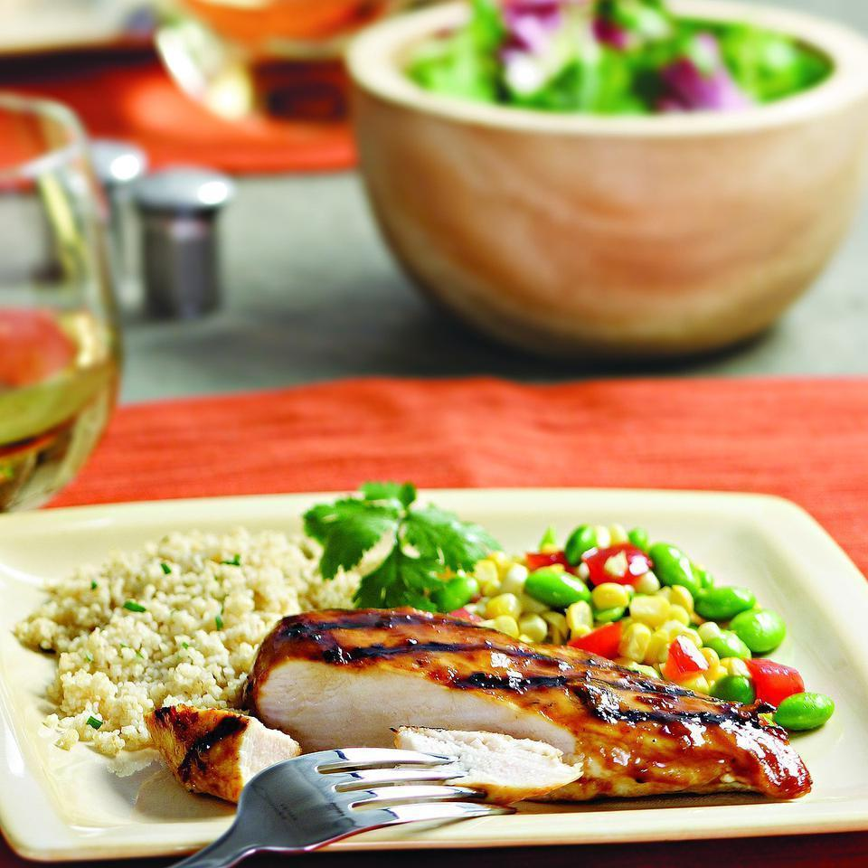 <p>Chipotle peppers in adobo sauce contribute a rich smokiness to this quick orange-infused barbecue sauce.</p>