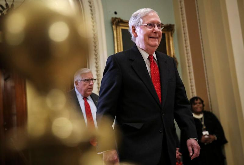 Mitch McConnell Doesn't Worry About Looking Bad