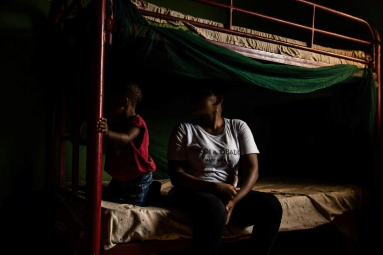 Many Nigerian migrants spend months, even years in Libya, sold as slaves by their smugglers (AFP Photo/FATI ABUBAKAR)