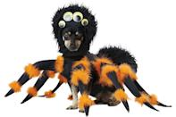 "<p>Finally! Some good PR for spiders. </p> <p><strong>Buy it!</strong> Pet Spider Pup Costume, $31.75; <a href=""https://www.amazon.com/California-Costumes-Collections-PET20149-Costume/dp/B01E0DXKGS/ref=as_li_ss_tl?ie=UTF8&linkCode=ll1&tag=polifemostpopulardogcostumeskbenderoct20-20&linkId=9737624adbf09087d1736b63965de4ba"" rel=""nofollow noopener"" target=""_blank"" data-ylk=""slk:Amazon.com"" class=""link rapid-noclick-resp"">Amazon.com</a></p>"