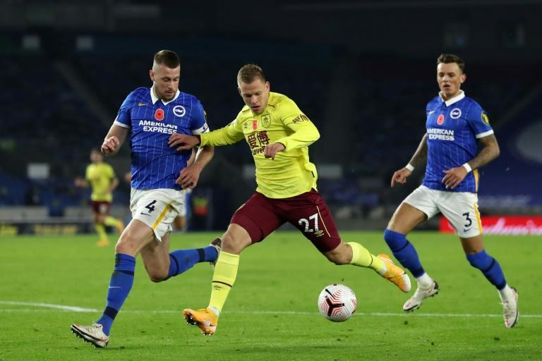 Brighton and Burnley played out a goalless draw