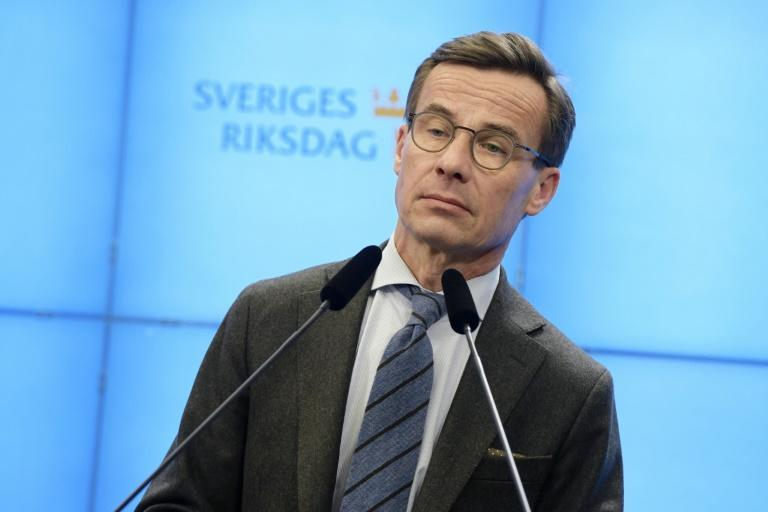 Moderate Party leader Ulf Kristersson said he was ready for the role