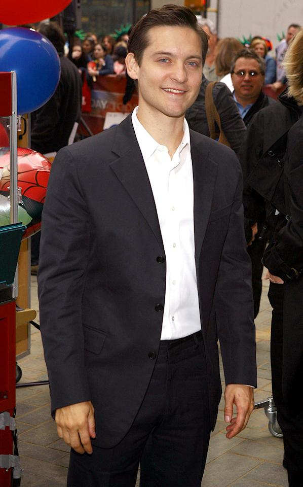 "Tobey Maguire promotes ""Spider-Man 3."" Jemal Countess/<a href=""http://www.wireimage.com"" target=""new"">WireImage.com</a> - April 30, 2007"