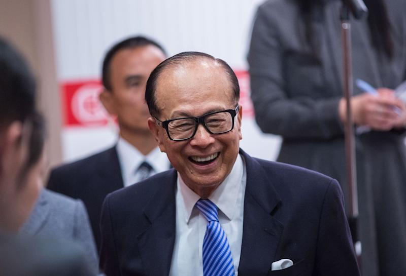 Hong Kong's Li Ka-Shing Says Retirement Won't Stop Him Working