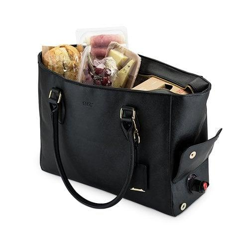 <p>She can sneakily bring drinks with her everywhere in this <span>Insulated Wine Tote </span> ($43) - you can pour your drink straight out of the bag.</p>