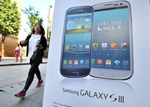 Samsung is top 2012 phone brand, ousting Nokia
