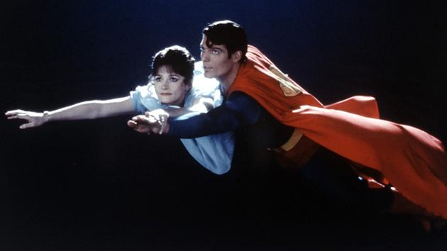 "Margot Kidder and Christopher Reeve in 1978's ""Superman"""