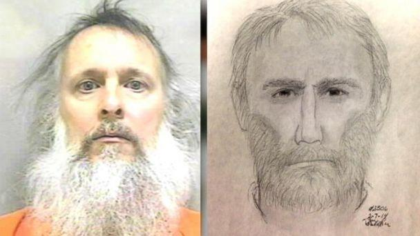 Convicted Felon Jailed on Weapons Charges Resembles Sketch of Wanted