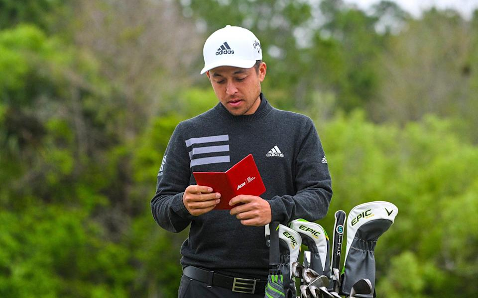 Xander Schauffele finished tied second to Tiger Woods at the Masters in April