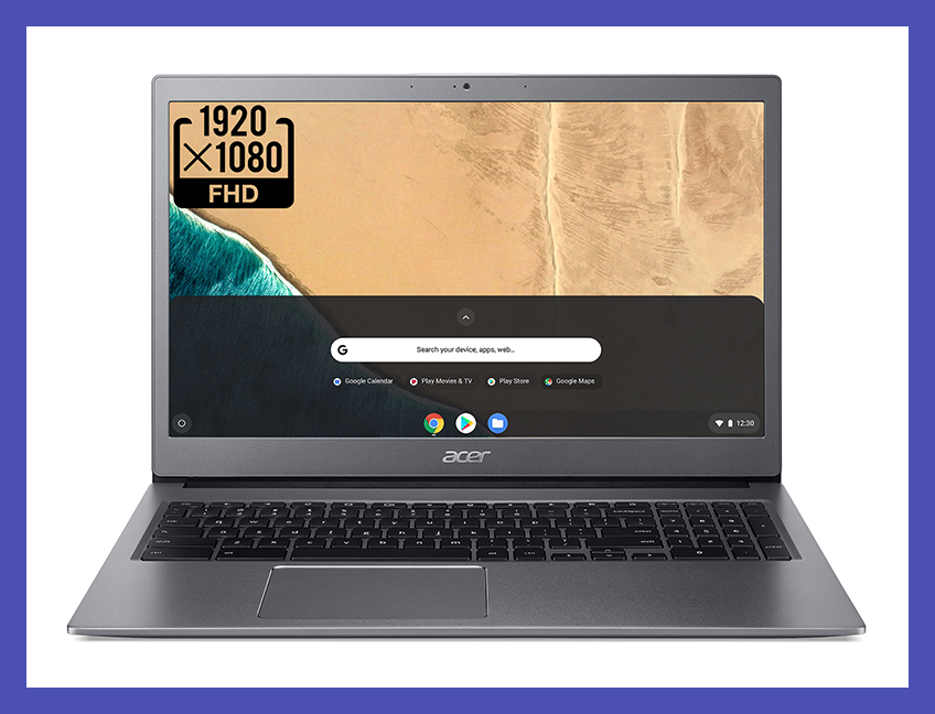 Work will feel like play with this Acer Chromebook 715—it's $150 off! (Photo: Walmart)