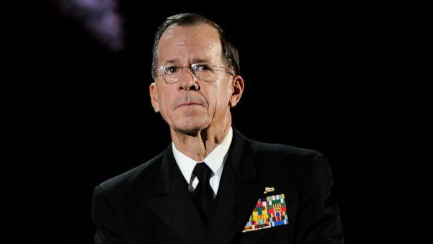 PHOTO: Chairman of the Joint Chiefs of Staff Admiral Michael Mullen appears onstage at an event on May 9, 2011, in New York. (Evan Agostini via AP)