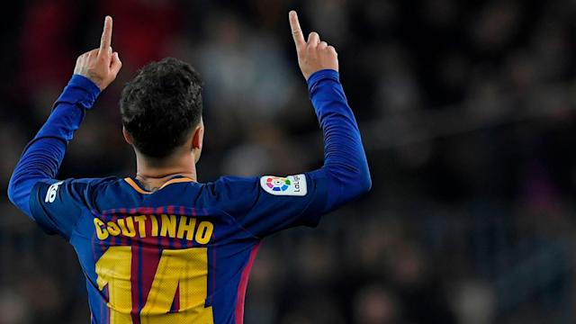 Philippe Coutinho is the latest Brazilian to move to the Camp Nou