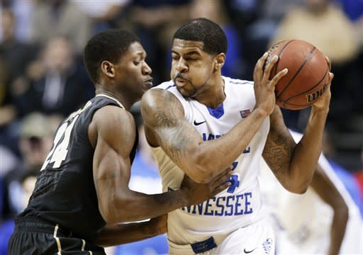 Middle Tennessee rallies to beat Vanderbilt 56-52