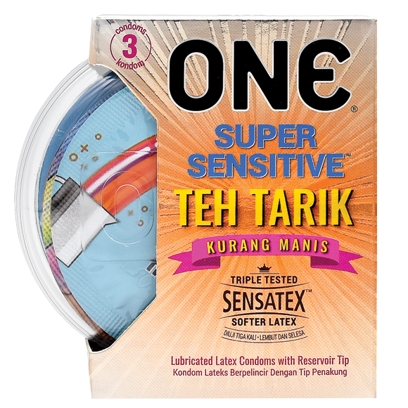 The new flavour is described by ONE Condoms as 'aromatic, delicious and tantalising.' — Picture from ONE Condoms official website