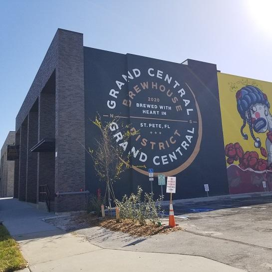 This microbrewery opened its doors in St. Petersburg in December. (Tiffany Razzano)