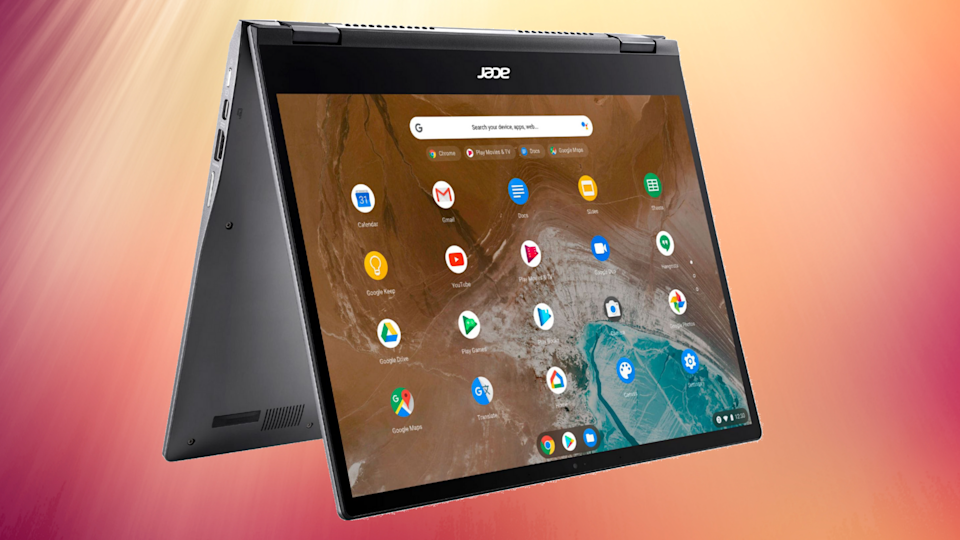 This Chromebook's a shining example of high performance and low, low price. (Photo: Best Buy)