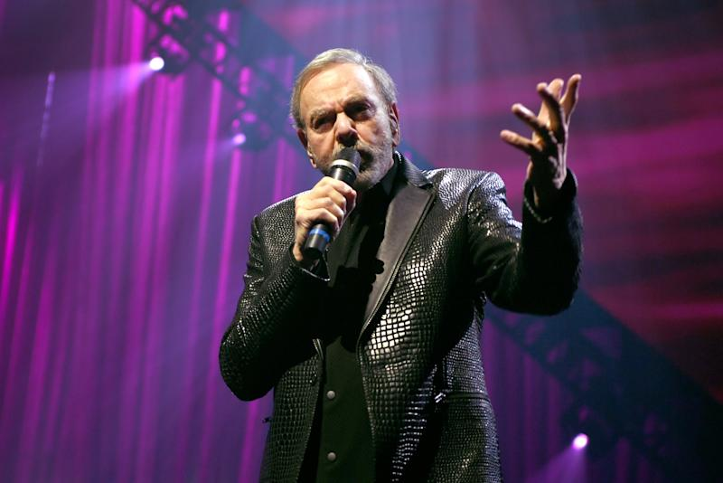 LAS VEGAS, NEVADA - MARCH 07: Neil Diamond performs onstage at the 24th annual Keep Memory Alive 'Power of Love Gala' benefit for the Cleveland Clinic Lou Ruvo Center for Brain Health at MGM Grand Garden Arena on March 07, 2020 in Las Vegas, Nevada. (Photo by Denise Truscello/Getty Images for Keep Memory Alive)