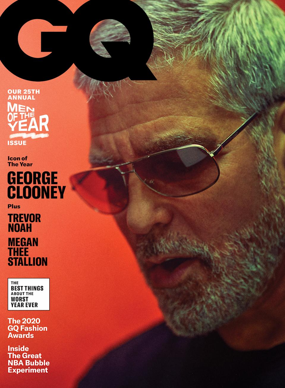 George Clooney covers the new GQ. (Photo: Jason Nocito)