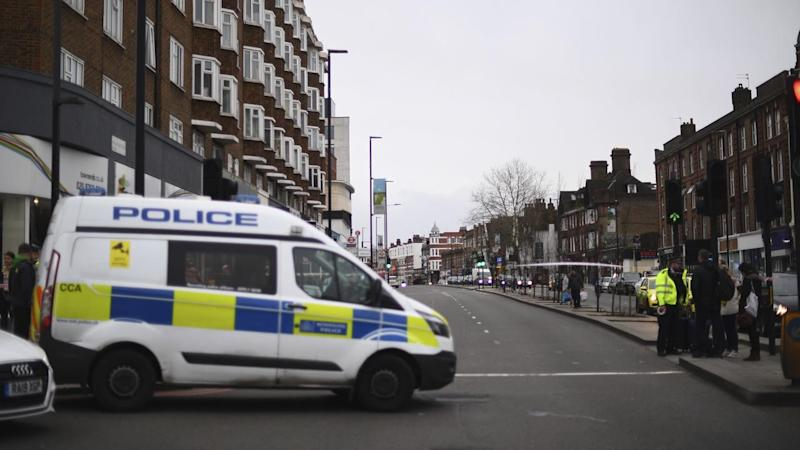 A man has been shot dead by police in south London in a 'terrorist-related' incident