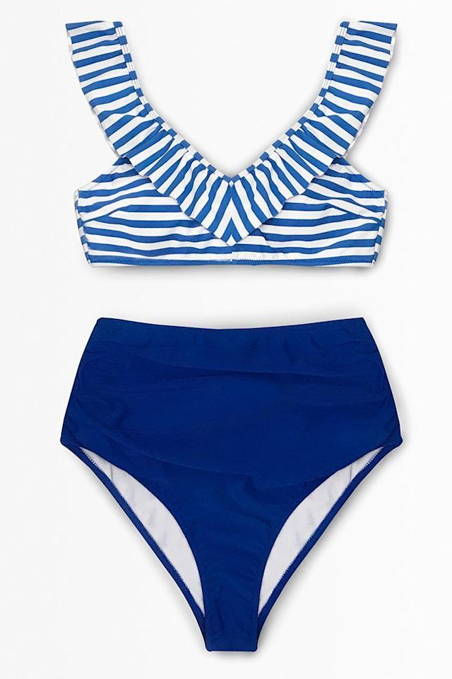 """<p>These trendy suits come at a great price, says Nazzaro. And if you're on the hunt for a look to celebrate the USA on the 4th of July, there are plenty of nautical-inspired options to fit the bill.</p><p> <a class=""""body-btn-link"""" href=""""https://www.cupshe.com/collections"""" target=""""_blank"""">SHOP NOW</a> </p>"""