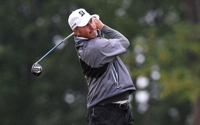 Matt Kuchar playing a practice round ahead of the Aberdeen Standard Investments Scottish Open - Getty Images Europe
