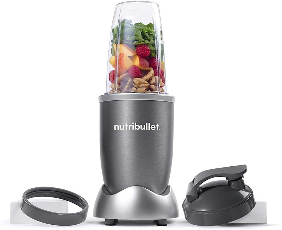 """<p>Having the <span>Nutribullet Nbr-0601 Nutrient Extractor</span> ($50) on hand for smoothies could come in handy as you prioritize soft foods during your recovery. Even better, this device blends right into a drinking cup for easy prep and clean up.</p> <p>Click <a href=""""https://www.popsugar.com/smart-living/Health-Wellness-Tips-46521311"""" class=""""link rapid-noclick-resp"""" rel=""""nofollow noopener"""" target=""""_blank"""" data-ylk=""""slk:here for more health and wellness stories, tips, and news"""">here for more health and wellness stories, tips, and news</a>.</p>"""