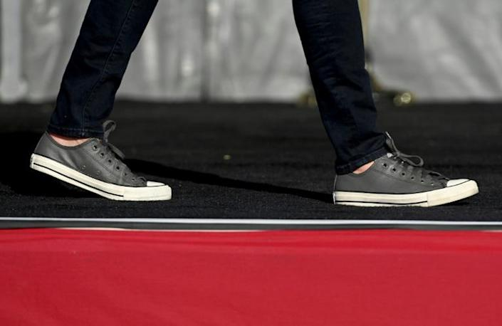 At 56, Vice President-elect Kamala Harris (signature Chuck Taylors pictured October 2020) brings new energy to the future administration of President-elect Joe Biden, who at 77 is the oldest elected president