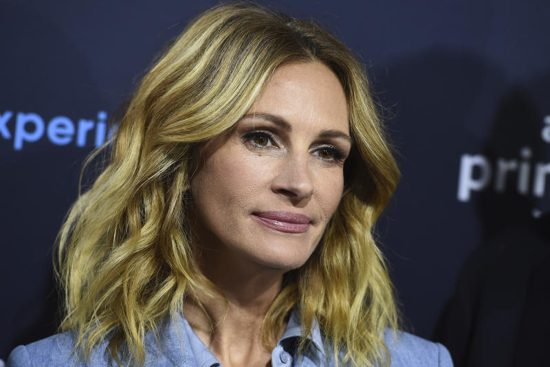"Julia Roberts arrives at the ""Homecoming"" FYC Event on Sunday, May 5, 2019 in Los Angeles Angeles. (Photo by Jordan Strauss/Invision/AP)"