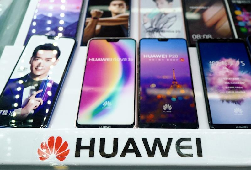 China was furious after a top executive Chinese telecom giant Huawei was arrested in Canada, but it does not seem to have derailed trade talks (AFP Photo/Johannes EISELE)