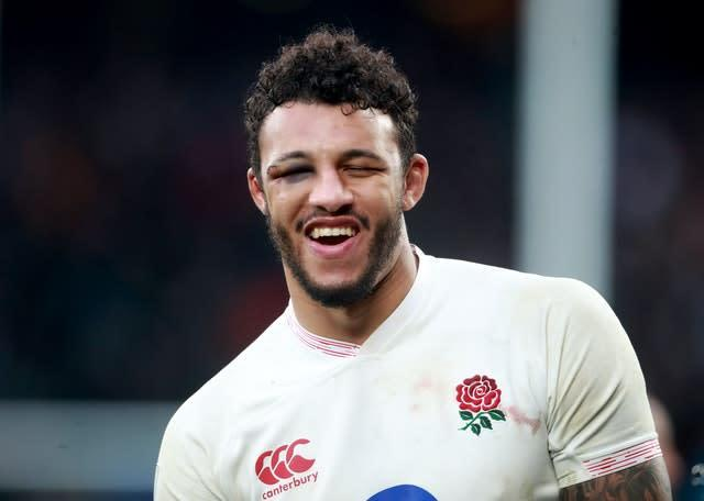 Courtney Lawes provided Rashford with a controversial response on Twitter before quickly deleting (Adam Davy/PA)