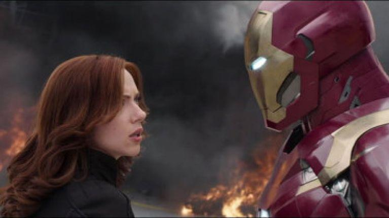 Black Widow and Iron Man (Credit: Marvel/Disney)