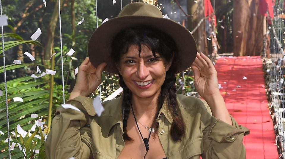 Shappi was the first campmate to be eliminated. Copyright: [ITV]