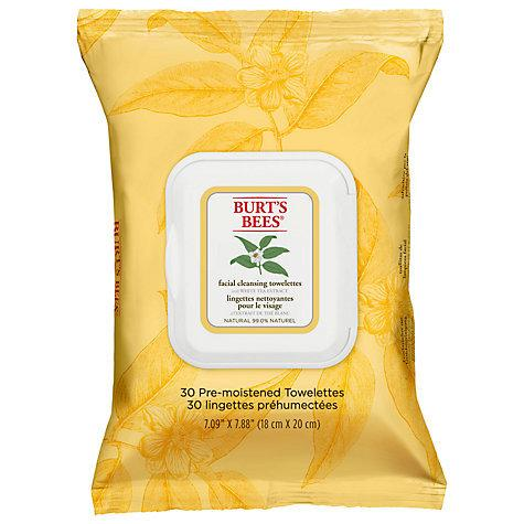 "<p>First things first - remove your make-up. Not only do you risk wiping it all over your in-flight pillow, it's not good for your skin to be stewing in it for the next eight hours. Without time for a full face cleanse, try these wipes from <a href=""http://tidd.ly/dca728de"" target=""_blank"">Burt's Bees</a> £5.39 - they're made with natural ingredients for minimal irritation.</p>"