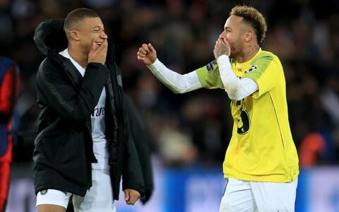 <span>Neymar's team-mate Kylian Mbappe is now arguably the more exciting player</span> <span>Credit: PA </span>